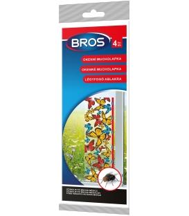 BROS- okenní mucholapky 4 ks