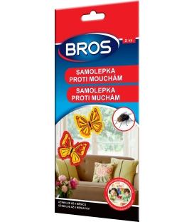 BROS- samolepka proti mouchám 2 ks
